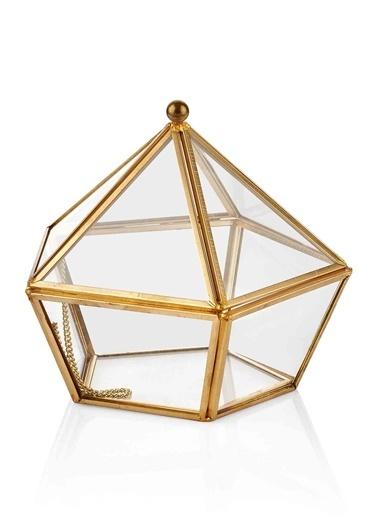 Brass Dekor & Çiçeklik 16 x 16 Cm-Morhipo Home